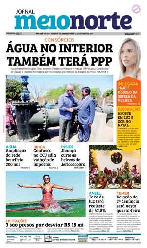 Jornal Meio Norte do dia 25-10-2017