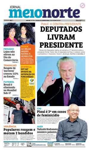 Jornal Meio Norte do dia 26-10-2017