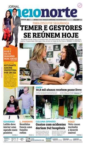 Jornal Meio Norte do dia 27-10-2017
