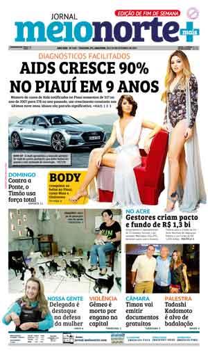 Jornal Meio Norte do dia 28-10-2017