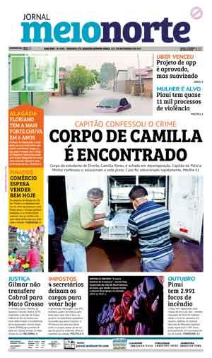 Jornal Meio Norte do dia 1-11-2017