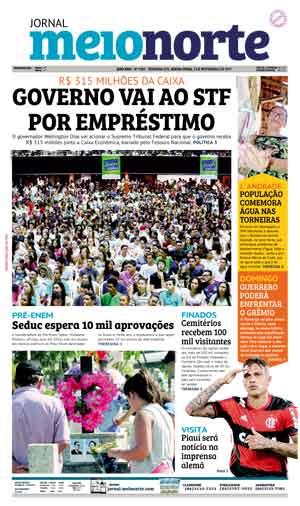 Jornal Meio Norte do dia 3-11-2017