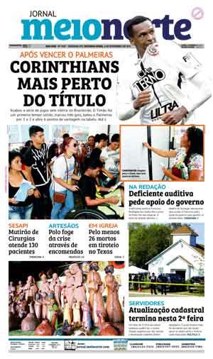 Jornal Meio Norte do dia 6-11-2017