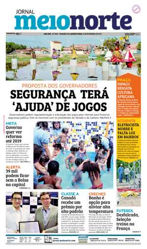 Jornal Meio Norte do dia 8-11-2017