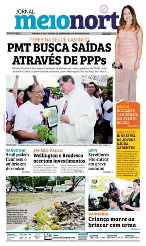 Jornal Meio Norte do dia 9-11-2017