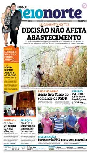 Jornal Meio Norte do dia 10-11-2017
