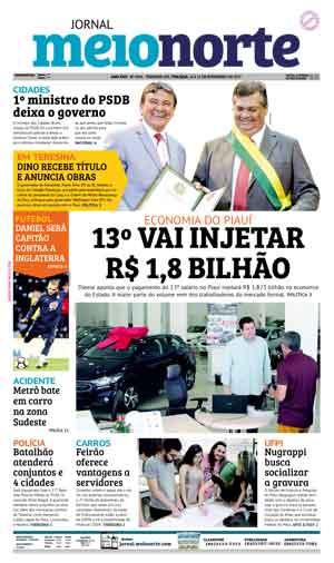 Jornal Meio Norte do dia 14-11-2017
