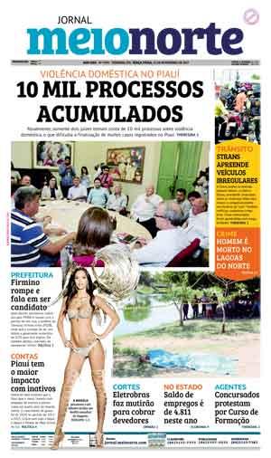 Jornal Meio Norte do dia 21-11-2017
