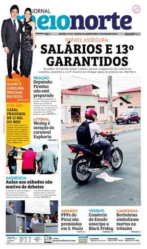 Jornal Meio Norte do dia 22-11-2017