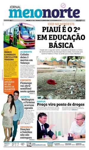 Jornal Meio Norte do dia 23-11-2017