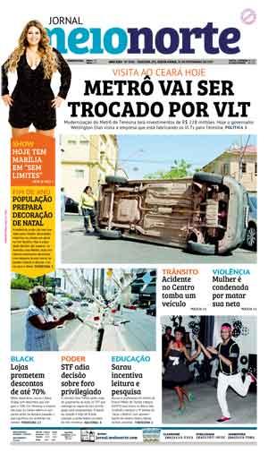 Jornal Meio Norte do dia 24-11-2017
