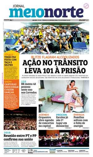 Jornal Meio Norte do dia 27-11-2017
