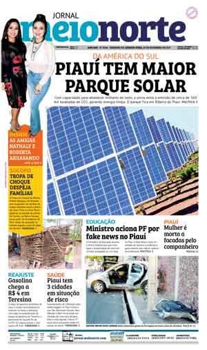 Jornal Meio Norte do dia 29-11-2017