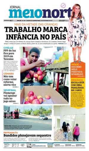 Jornal Meio Norte do dia 30-11-2017