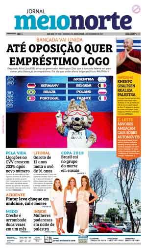 Jornal Meio Norte do dia 1-12-2017