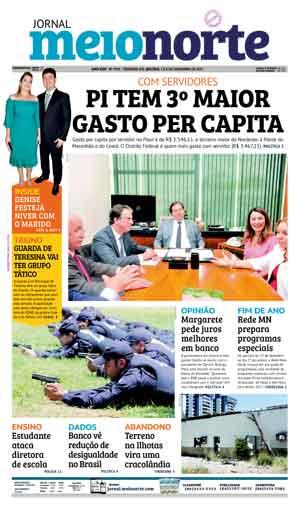 Jornal Meio Norte do dia 7-12-2017