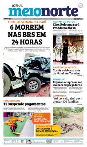 Jornal Meio Norte do dia 11-12-2017