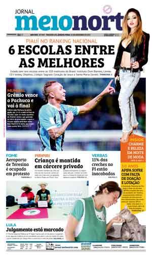 Jornal Meio Norte do dia 13-12-2017