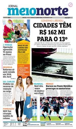 Jornal Meio Norte do dia 14-12-2017