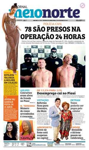 Jornal Meio Norte do dia 15-12-2017