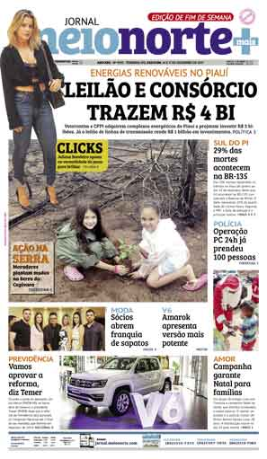Jornal Meio Norte do dia 16-12-2017