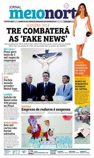 Jornal Meio Norte do dia 20-12-2017