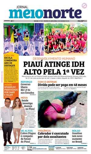 Jornal Meio Norte do dia 22-12-2017