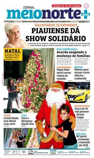 Jornal Meio Norte do dia 23-12-2017