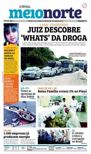 Jornal Meio Norte do dia 26-12-2017