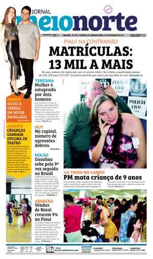 Jornal Meio Norte do dia 27-12-2017