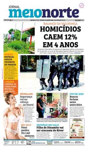 Jornal Meio Norte do dia 28-12-2017