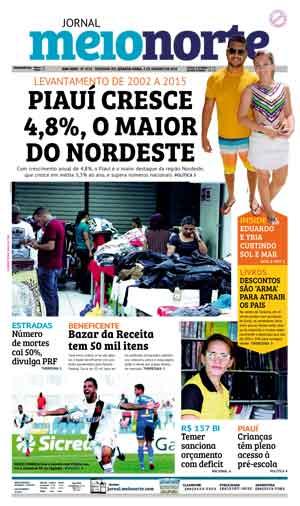 Jornal Meio Norte do dia 3-01-2018