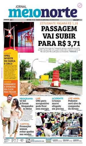 Jornal Meio Norte do dia 5-01-2018