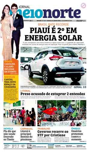 Jornal Meio Norte do dia 10-01-2018