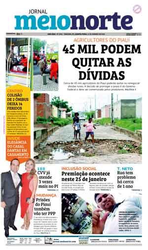 Jornal Meio Norte do dia 11-01-2018