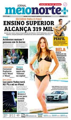 Jornal Meio Norte do dia 13-01-2018