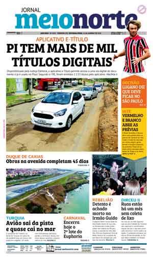 Jornal Meio Norte do dia 15-01-2018