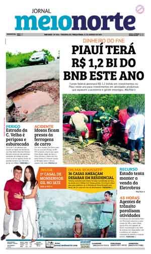 Jornal Meio Norte do dia 16-01-2018