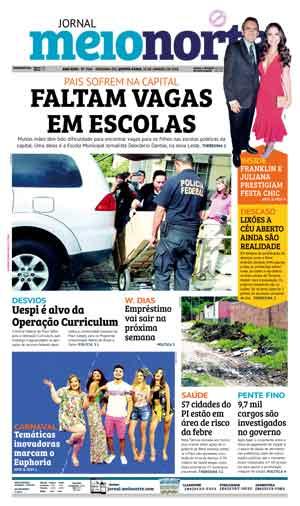 Jornal Meio Norte do dia 18-01-2018