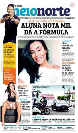 Jornal Meio Norte do dia 19-01-2018