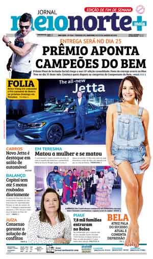 Jornal Meio Norte do dia 20-01-2018