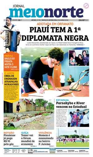Jornal Meio Norte do dia 22-01-2018