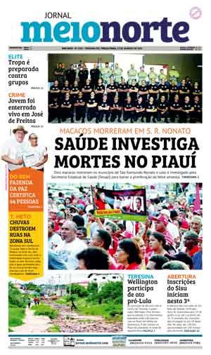 Jornal Meio Norte do dia 23-01-2018