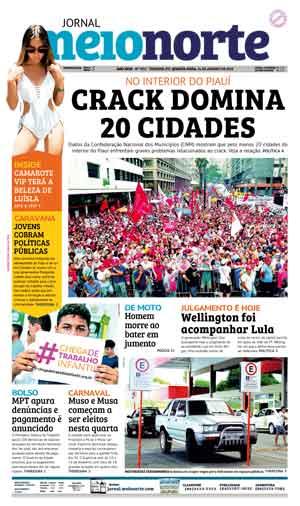 Jornal Meio Norte do dia 24-01-2018
