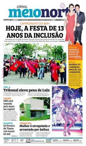 Jornal Meio Norte do dia 25-01-2018