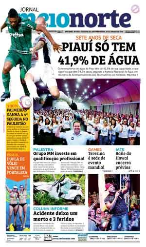 Jornal Meio Norte do dia 29-01-2018