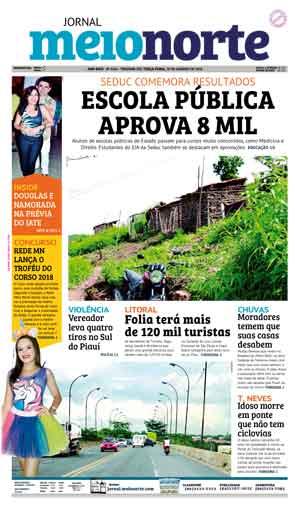 Jornal Meio Norte do dia 30-01-2018