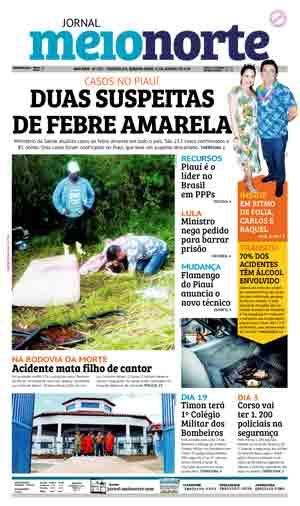 Jornal Meio Norte do dia 31-01-2018