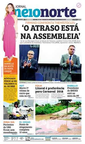 Jornal Meio Norte do dia 2-02-2018