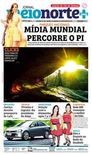 Jornal Meio Norte do dia 3-02-2018